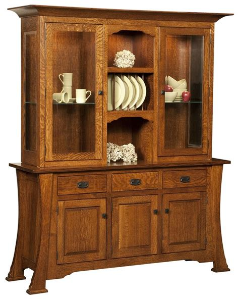 Handmade Hutches - amish cambridge hutch