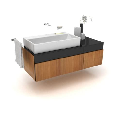 Large Basin Modern Bathroom Sink 3d Model Cgtrader Com