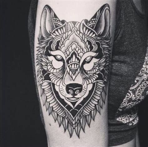 wolf tattoo arm tattoo collection