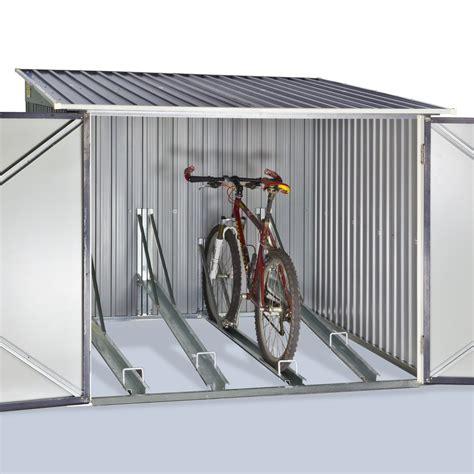 fahrrad garage fahrradgarage fahrradschuppen 4 m 178 f 252 r bis 4 fahrr 228 der