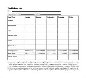 Weekly Time Log Template by Sle Weekly Log Template 9 Free Documents In Pdf