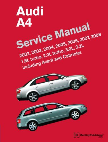 audi a4 service manual 2002 2003 2004 2005 2006 2007 import it all