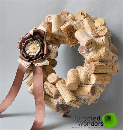 christmas cork idea images door wreaths 18 craft ideas with cheap materials