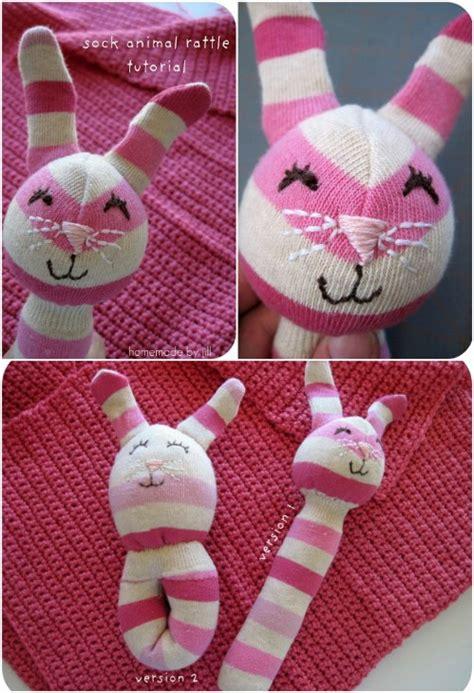 Ratlle Socks Animal 25 hopelessly adorable diy sock toys and easy