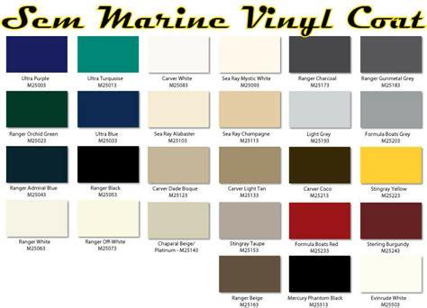 Vinyl Upholstery Dye - sem marine material dye sem marine vinyl coat changes or
