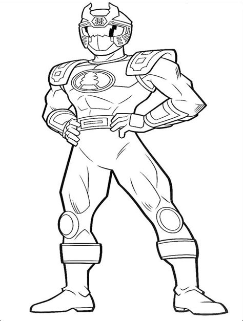 ninja power rangers coloring pages ranger red ninja thunder coloring pages power ranger