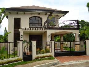 superior Interior Designs For Small Houses #4: amazing-simple-two-storey-house-design-storey-house-design-philippines.jpg