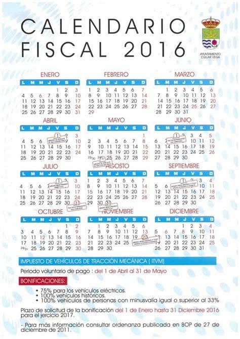 Calendario Hacienda 2016 Calendario Hacienda 2016 Newhairstylesformen2014