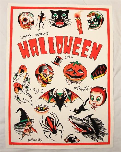 tattoo flash halloween 29 best halloween tattoo designs and ideas