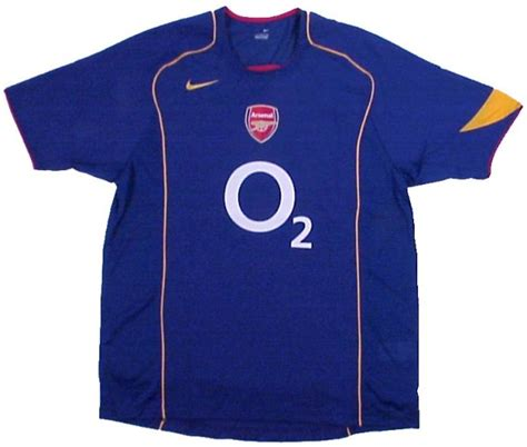 arsenal away shirt arsenal shirts 2005 away football shirt picture