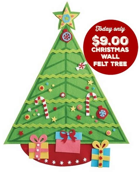 holiday felt wall tree only 9 00 at target today only