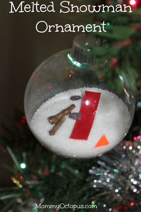 25 best ideas about melted snowman ornament on pinterest