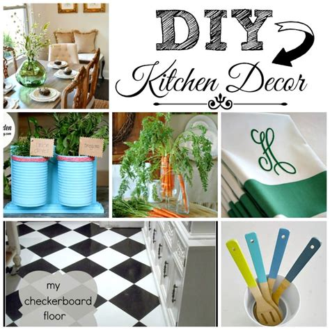 diy kitchen decor inspiration monday diy kitchen decor features