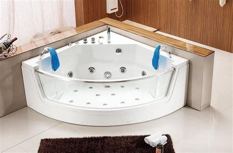 baignoir balneo pas cher salle de bain baignoire d angle marbella1 baignoire