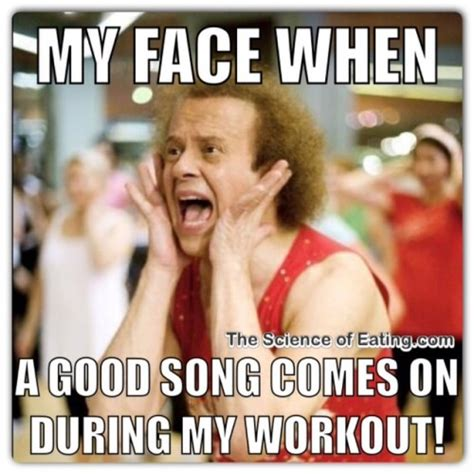 Motivational Fitness Memes - richard simmons workout quotes quotesgram