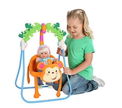 fisher price monkey swing toy fisher price monkey swing qvc com
