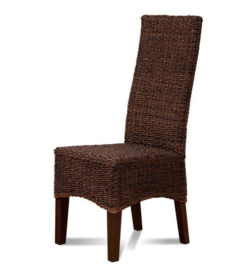 indoor rattan chairs uk rattan dining chair mahogany frame casa