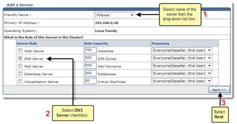 adding  dns server