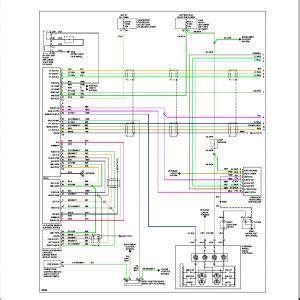 chevy avalanche radio wiring diagram  wiring