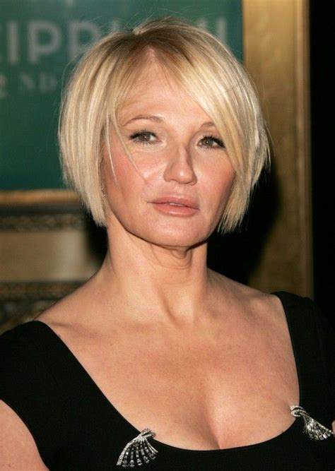 bob hairstyles in your 50s 20 short haircuts for women over 50 ellen barkin short