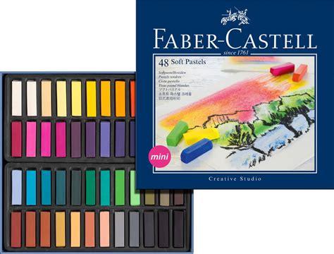 Crayon Faber Castell Pastel 48 Warna faber castell soft chalk pastels x 48 128248 hobbyworld direct