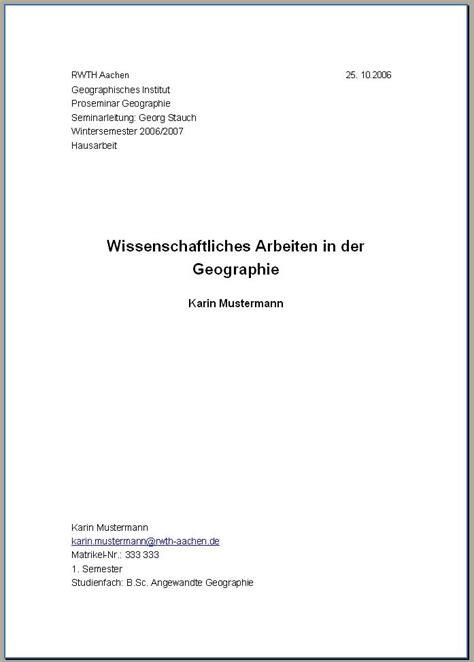 Bewerbung Uni Heidelberg Soziologie hausarbeit deckblatt schreiben muster