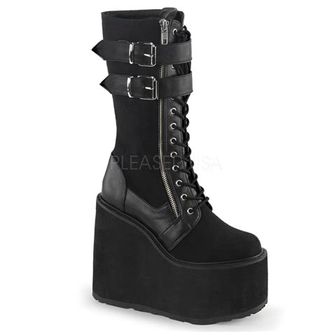 Demonia Swing 101 by Demonia Boots Mens And Womens Boots Australia