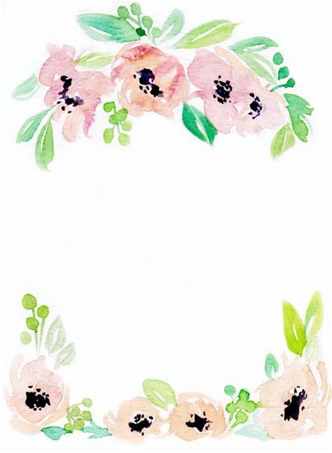 pinterest wallpaper borders downloadable floral border 3 floral border floral and etsy