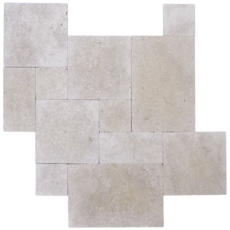 french pattern travertine tiles ivory tumbled french pattern travertine tiles atlantic