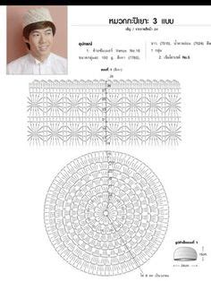 tutorial topi rajut dewasa 1000 images about tubeteika kufee feska ermolka on