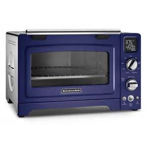 kitchenaid 174 kco275bu cobalt blue countertop convection oven