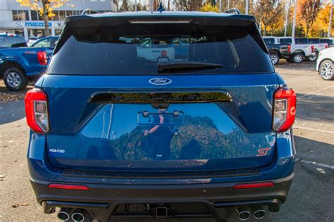ford explorer st atlas blue  ecoboost