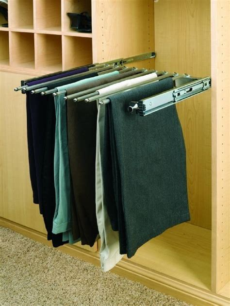 Pull Out Closet Storage by Revashelf 18 Pull Out Pant Organizer Closet Organizer Accessories