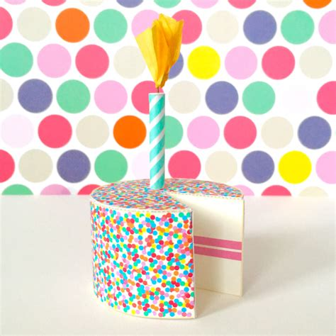 Birthday Cake Papercraft - birthday cake printable papercraft