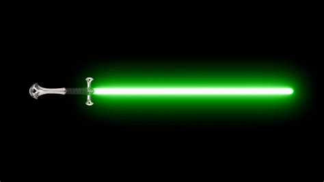 green lightsaber green lightsaber walldevil