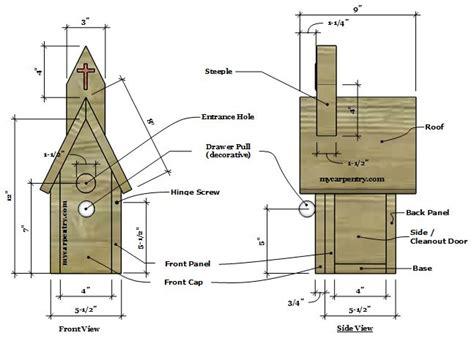 Free Houseplans church birdhouse plans bird house plans that resemble a