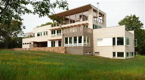 prefab luxury homes jetson green prefab fishers island house steps up the