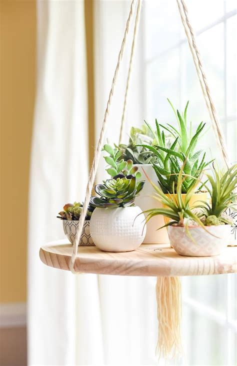 Handcrafted Decor - wonderful diy plant stands you will to make craft coral
