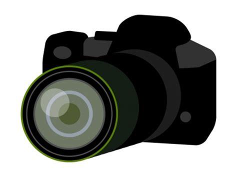 一眼レフカメラのイラスト03 | イラスト無料・かわいいテンプレート