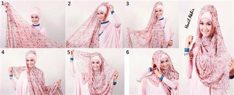 Segi 4 Bunga 2 tutorial cara mudah memakai jilbab segi empat gambar dan