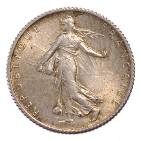 comptoir de monnaies iii 232 me r 233 publique 1 franc semeuse