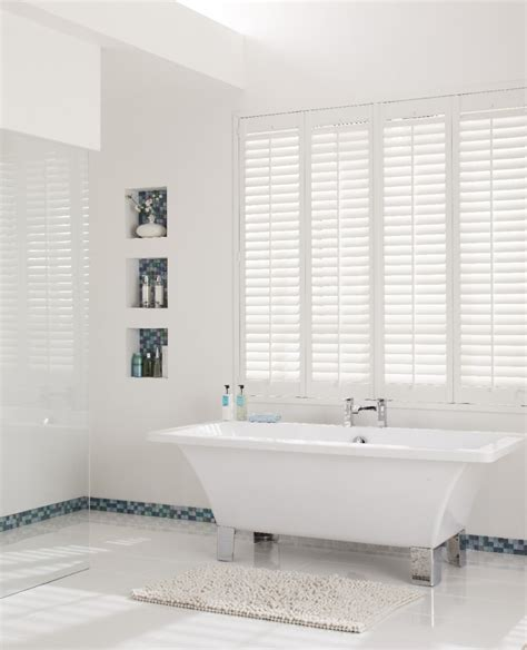 shades for bathroom the best moisture resistant blinds for kitchens and