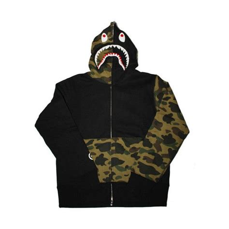 Half Camo Bape the 25 best bape shark hoodie camo ideas on