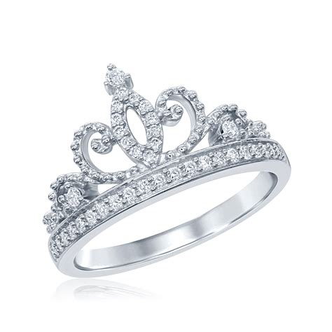 disney enchanted princess 20ctw tiara ring