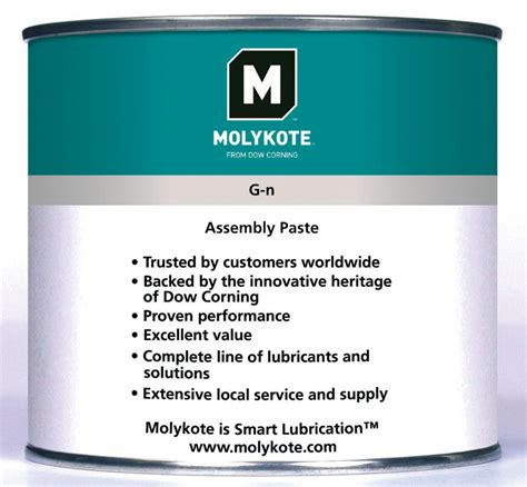 Sealxpert Moly G N Paste Molykote G N Plus xtn technical trading company