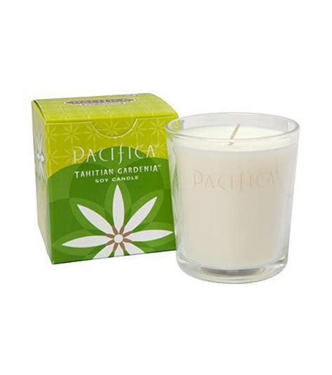 Gardenia Candles Tahitian Gardenia Soy Candle In 160g From Pacifica