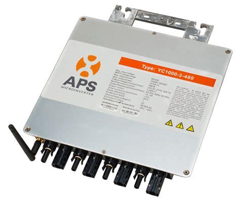 apsystems solar micro inverters