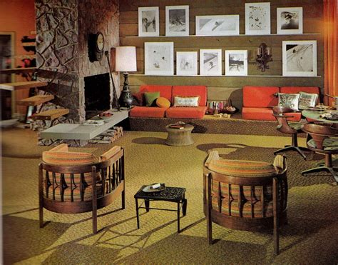 1970s home interiors back when interior design had it going on 1970s retro decor groovy interiors 1965 and 1974 home d 233 cor flashbak