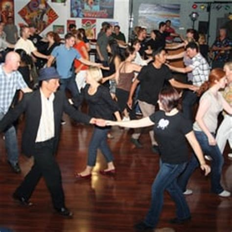 Firehouse Swing Dance At Queen Bee S Club Disco San