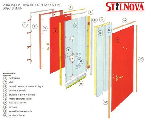 struttura porta stilnova struttura interna in acciaio produzione